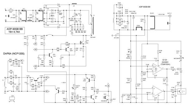 Схема Электрическая блок