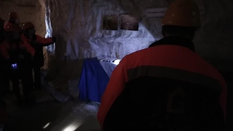 Пешелань. Гипсовые шахты