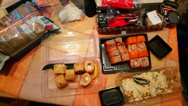 Настенька заказала вкуснятинки.  5 июня 2018