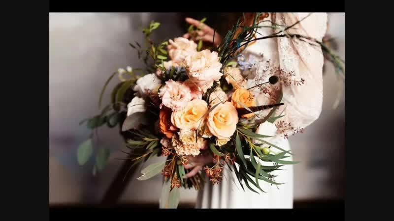 Вальс цветов в убранстве свадебной флористики.