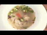 Рецепт острого куриного супа по-тайски
