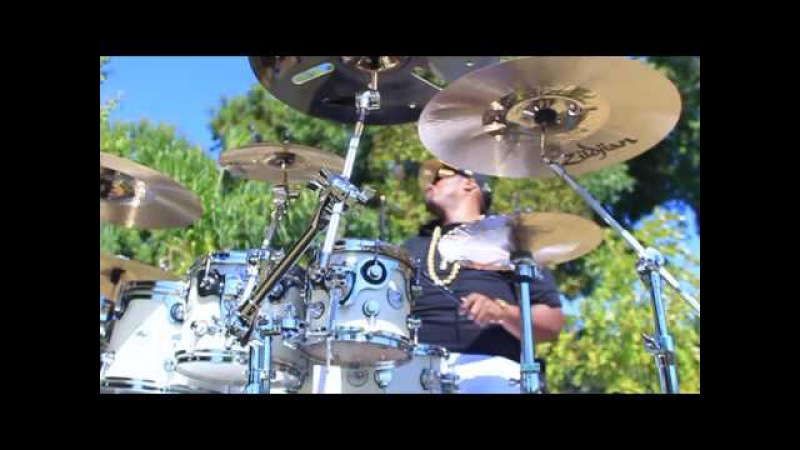 Exclusive Video Of The Newest Zildjian Cymbals Artist Eric Moore ii DRUM SOLO