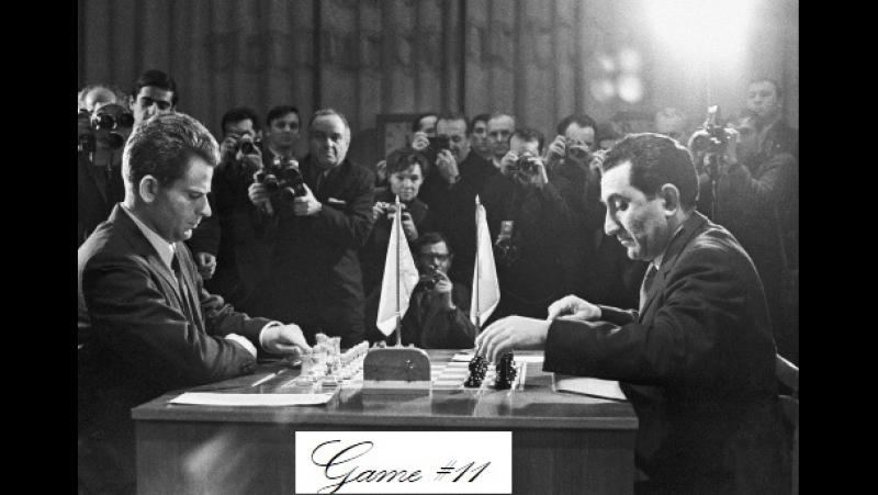 Spassky Boris - Petrosian Tigran V, Moscow 1969, Game 11
