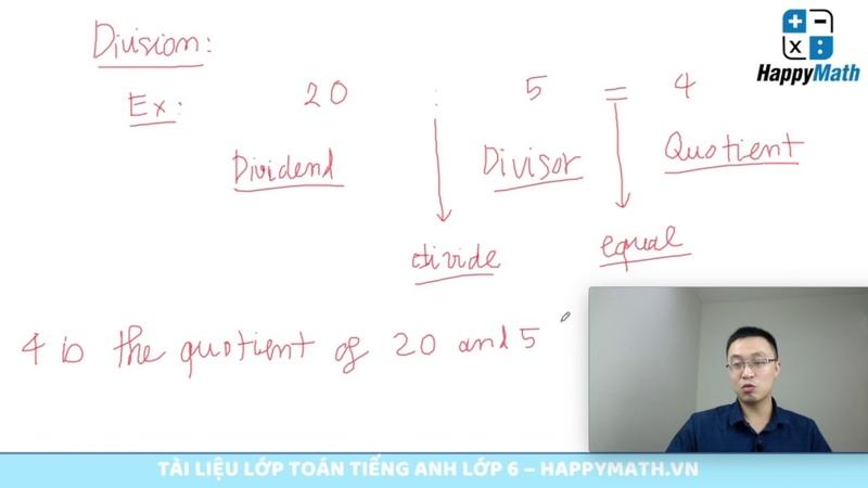 Lý Thuyết Exponent - Lớp Học Điện Tử Toán Tiếng Anh Lớp 6