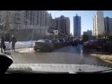 Авария с маршрутным транспортом. ДТП с троллейбусом 29.03.2013