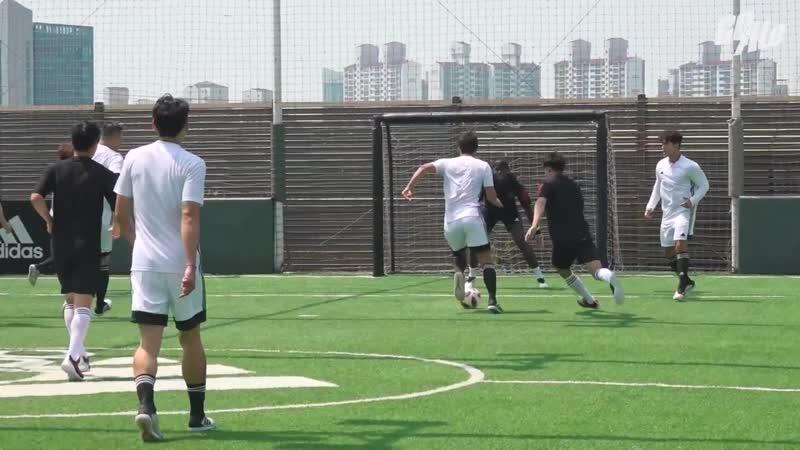 SHOW — 14.06.19 Матч по мини-футболу с Полем Погба в рамках шоу «Millage Soccer» (feat. Ю Ёнджэ)