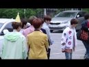 UNB - on the way to 'Music Bank' (11.05.18)
