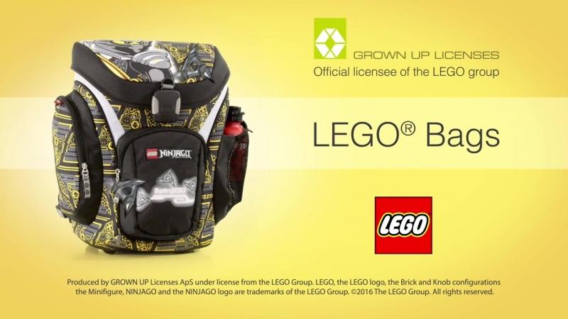 Лего Набор Рюкзак пенал, мешок для обуви, спорт.сумка аксессуары Ninjago Cole 21 л, LEGO
