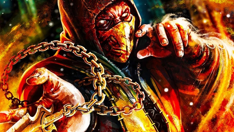 Mortal Kombat 9 - SCORPION - All Fatalities/Babalities/X-Rays/Stage Fatalities/Pit Fatalities