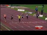400m Hurdles Men's Heat A - EAA Classic Meeting Luzern 2016