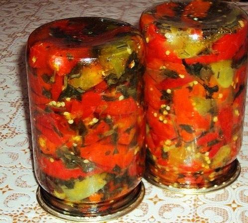 Горький перец по-кавказски Для приготовления понадобится: Перец перец