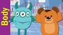 Head, Shoulders, Knees and Toes | Body Parts Song | Kindergarten, Preschool ESL | Fun Kids English
