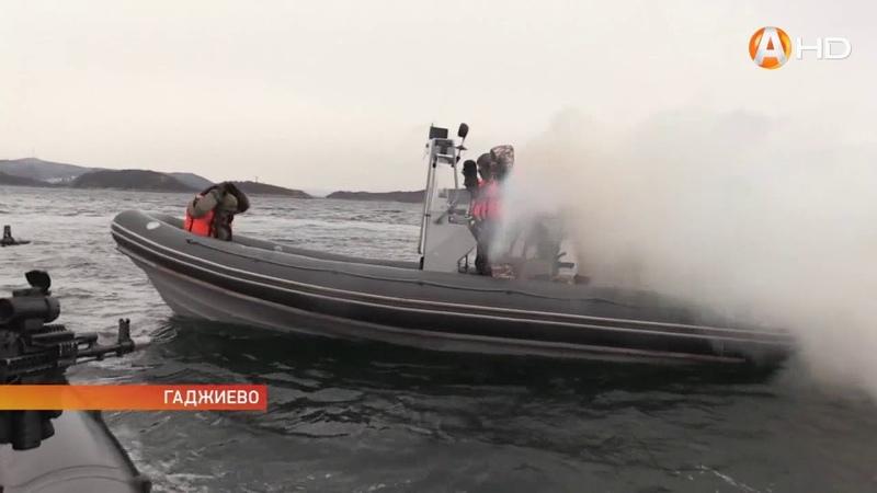 Более 1000 военнослужащих Северного флота приняли участие в антитеррористическом учении