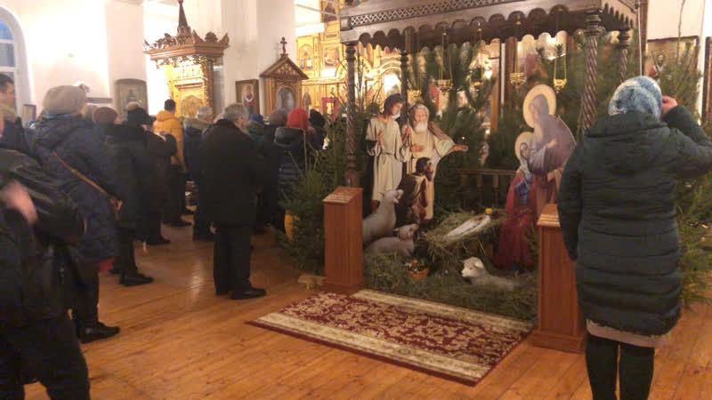 Рождество 2019 в Свято-Покровском храме (с. Становой Колодезь)