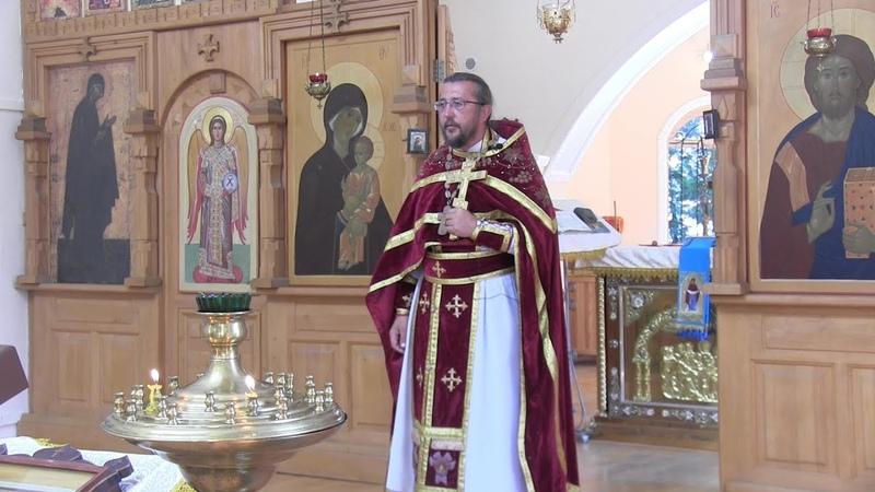Проповедь на Рождество Пророка Предтечи и Крестителя Господня Иоанна Священник Игорь Сильченков