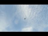 Свободное небо-10. Полёт выполнил Александр Соловьёв.