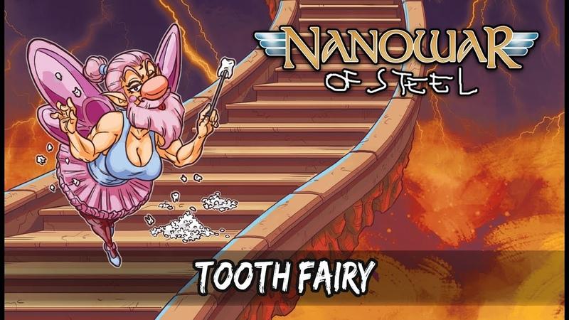 Nanowar Of Steel - Tooth Fairy (Lyrics Video) [feat. Mario Draghi]