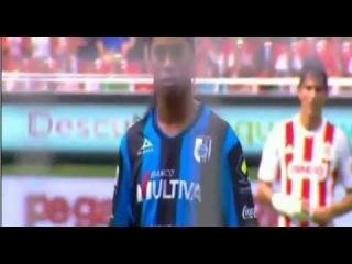 Ronaldinho First Goal For Queretaro vs Chivas Guadalajara