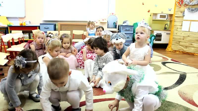 Утренник в детском саду Филипок 27.12.2018 Исполнил Александрит Счастливый