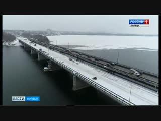 Меньше двух недель остается до открытия движения по Петровскому мосту