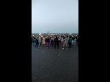 Съёмки Орёл и Решка во Владимире, ведущие Клава Кока и Сати Казанова. Зажигательные танцы