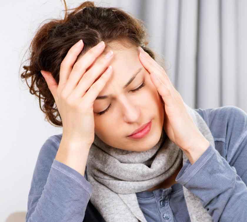 Головные боли могут указывать на необходимость очистки кишечника