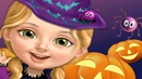 Sweet Baby Girl Halloween Fun – Play Spooky Makeup Dress Up Party Games For Kids And Toddlers