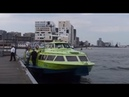 Fast Flying Ferry, Sensation of racing across the water, from Amsterdam Harbours to Velzen