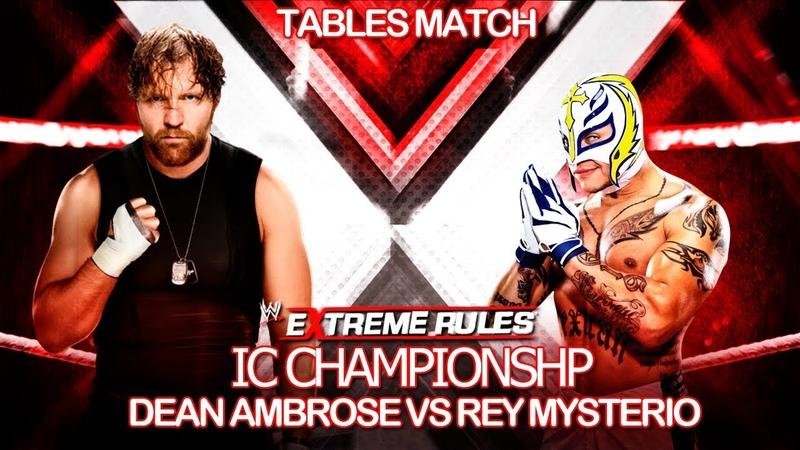Ambrose vs Mysterio