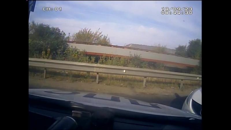 Задержание автоугонщика в Липецке попало на видео