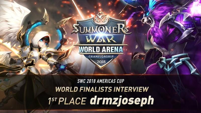 EN KO SUB World Finalists Interview DRMZJOSEPH Summoners War 서머너즈워