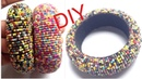 DIY Silk Thread Bangle! How to Make Seed Bead Bangles At Home! Latest silk thread bangles