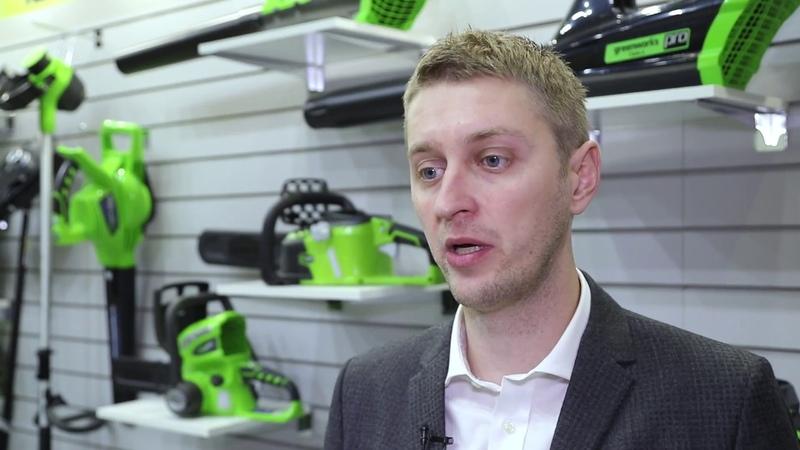 MITEX 2017, Интервью Коммерческого Директора GREENWORKS