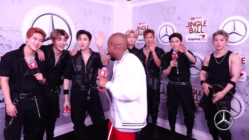 [VK][181207] MONSTA X Explain Why Theyre Honored To Perform At Z100Jingleball Interview @ Z100 New York
