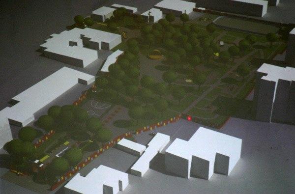 Реконструкция парка Матросова