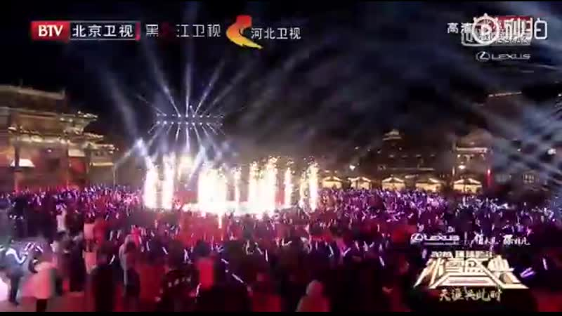 Mike Angelo - Green apple paradise (Thai version) @ New Year Snow Festival on Be
