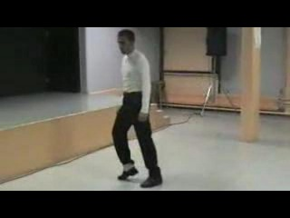 лунная походка Майкла Джексона! урок!