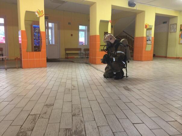 Пожарно-тактические мероприятия в МОБУ «Волховская средняя общеобразовательная школа № 6»