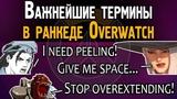Важнейшие термины в ранкеде Овервотч Словарь игрока в Overwatch