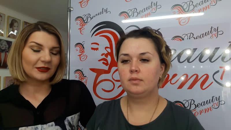 Вечерний макияж с растушёванной стрелкой
