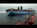 Бункеровка Maersk Гданьский Залив
