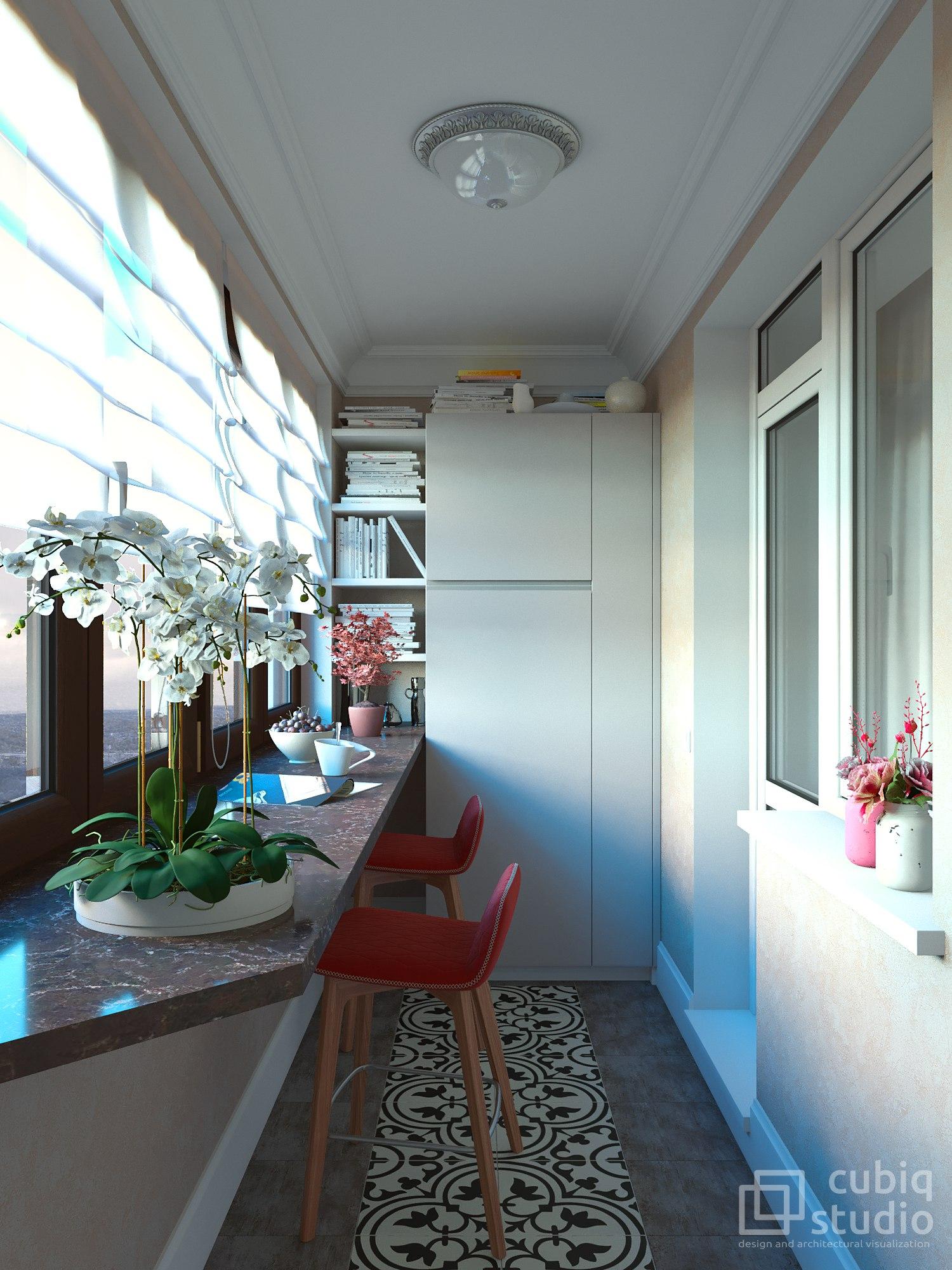 Проект квартиры-студии.
