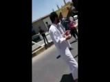 Raqqa - الرقة فيديو للمظاهرة التي خرجت بعد إنتهاء صلاة الجمعة من مسجد الحمزة في مدينة الطبقة بريف الرقة الغربي والتي طالبت بإسقا