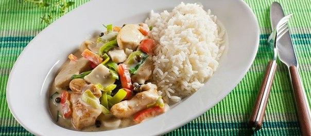 """""""Курица с овощами и рисом"""""""