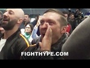USYK HYPES UP CROWD FOR LOMACHENKO CHANTS LOMA! LOMA! AT WEIGH-IN FOR PEDRAZA CLASH