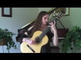 Chaconne Klaverenga - Paganini Caprice No. 5