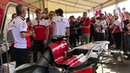 Alfa Romeo Formel 1 extreme Loud Start Up with Charles Leclerc