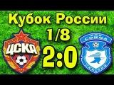 Клип на матч 1/8 Кубка России ЦСКА-Сокол 2-0  ● 1/8 Cup of Russia CSKA 2-0 Sokol ● Full HD 1080p