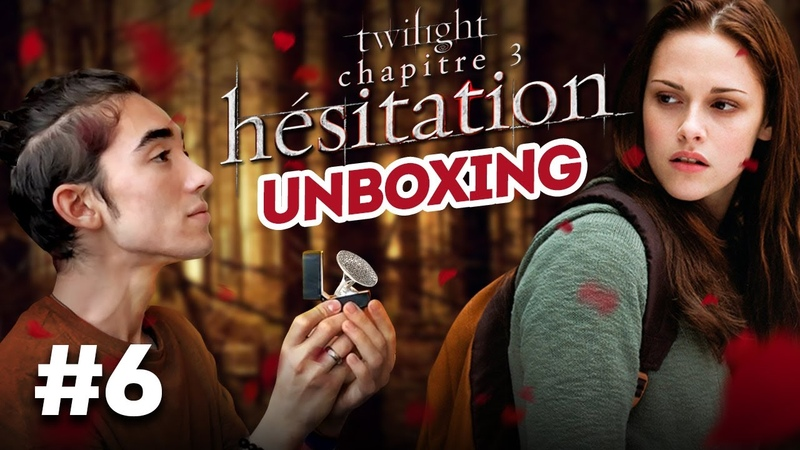 Unboxing: Обручальное кольцо ЕГО мамы / Twilight - Chapitre3 Hésitation [Édition Ultime Limitée]