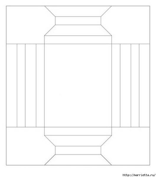 Схема для рамки своими руками из бумаги